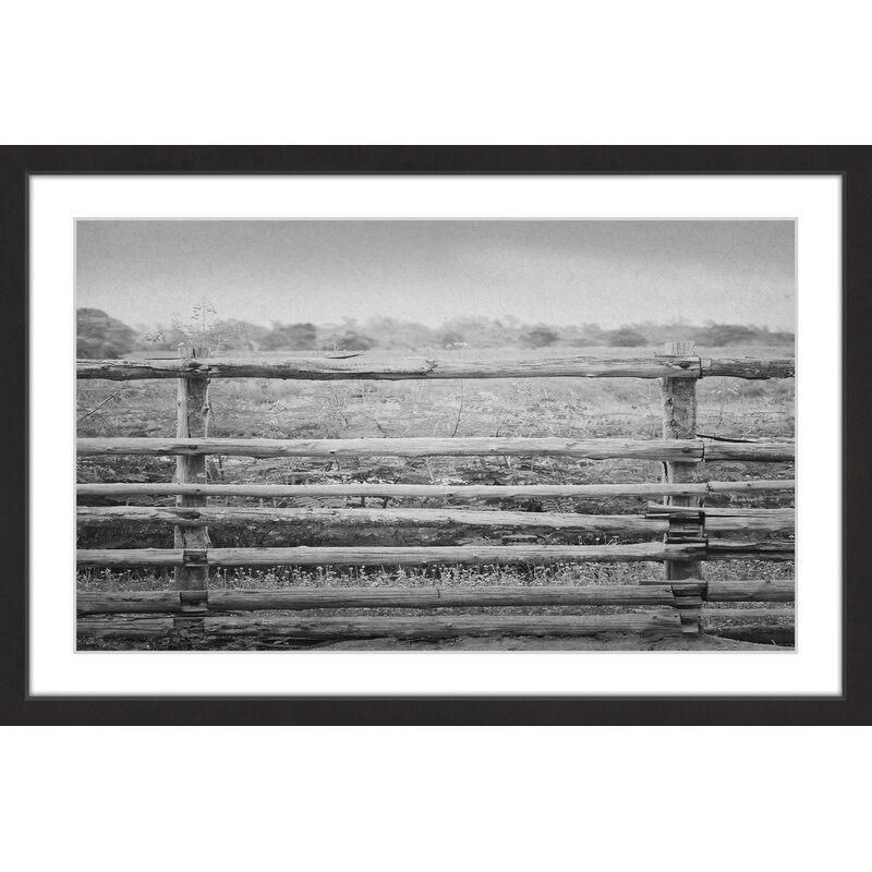 Gracie Oaks Old Charm Framed Photographic Print On Paper Wayfair