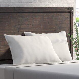 Alwyn Home Jumbo Alternative Bed Polyfill Standard Pillow (Set of 2)