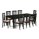 Beesley 9 Piece Dining Set by Darby Home Co