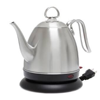 Homeimage 3 38 Qt Aluminum Electric Tea Kettle Reviews Wayfair Ca