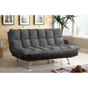 Geraci Microfiber Convertible Sofa by Lat..