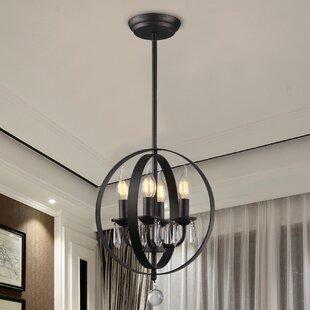 Dormody 4-Light Pendant by House of Hampton