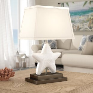 Fish lamps wayfair qui starfish 16 table lamp aloadofball Image collections