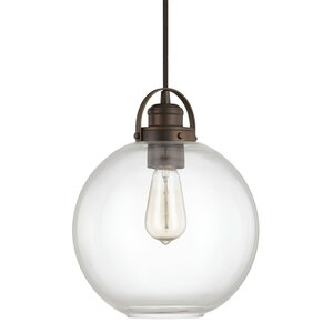 Caster 1-Light Globe Mini Pendant