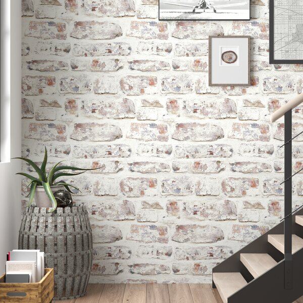 3 D Brick Wallpaper Wayfair