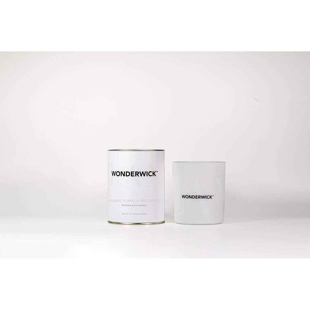Blanc Ylang Ylang And Patchouli Scented Designer Candle
