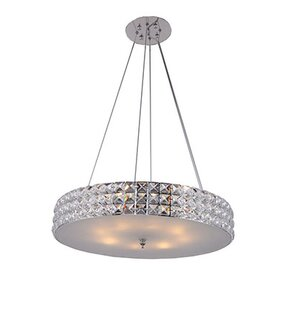 Mcdowell 3-Light Crystal Chandelier by Ro..