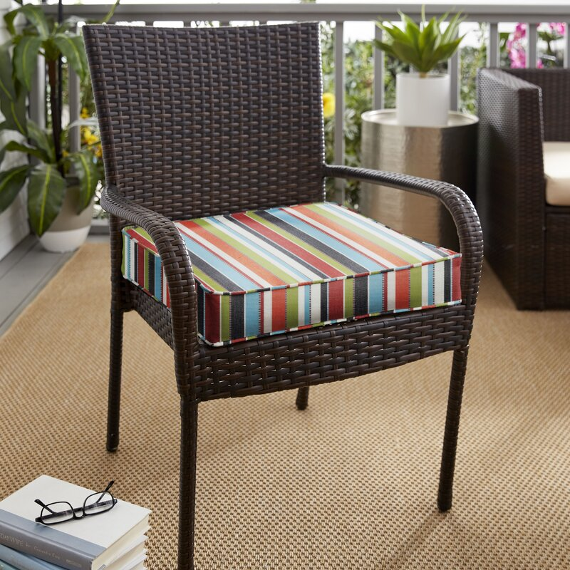 Red Barrel Studio Indoor Outdoor Sunbrella Dining Chair Cushion Reviews Wayfair