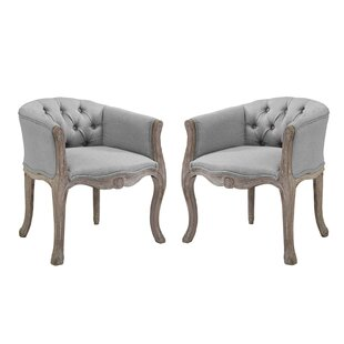 Jason Vintage French Upholstered Dining Chair (Set of 2)
