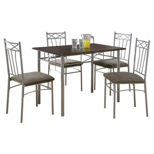 Scherer 5 Piece Dining Set