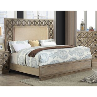 Reviews Pinnix Upholstered Panel Bed by Bloomsbury Market Reviews (2019) & Buyer's Guide