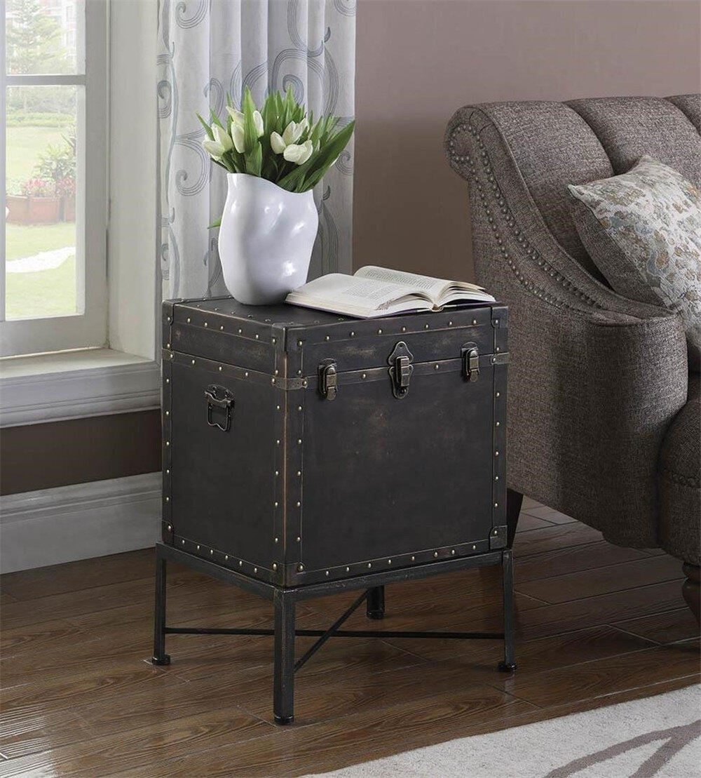 Alcott Hill Saltzman Vintage Trunk Wayfair