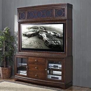 Cambridge TV Stand with Plasma Storage Hutch