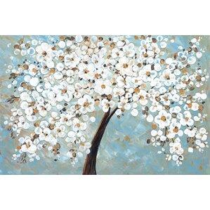 Wayfair Wall Art cherry blossom canvas art all wall art | wayfair