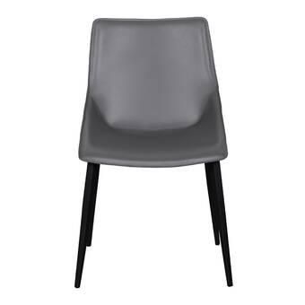 Wrought Studio Liverpool Polka Dot Upholstered Dining Chair Wayfair