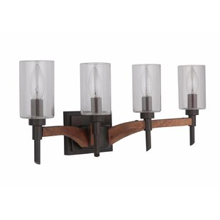 Gracie Oaks Polen 4-Light Vanity Light