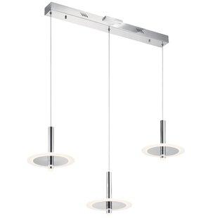 Orren Ellis Evers 3-Light LED Kitchen Isl..