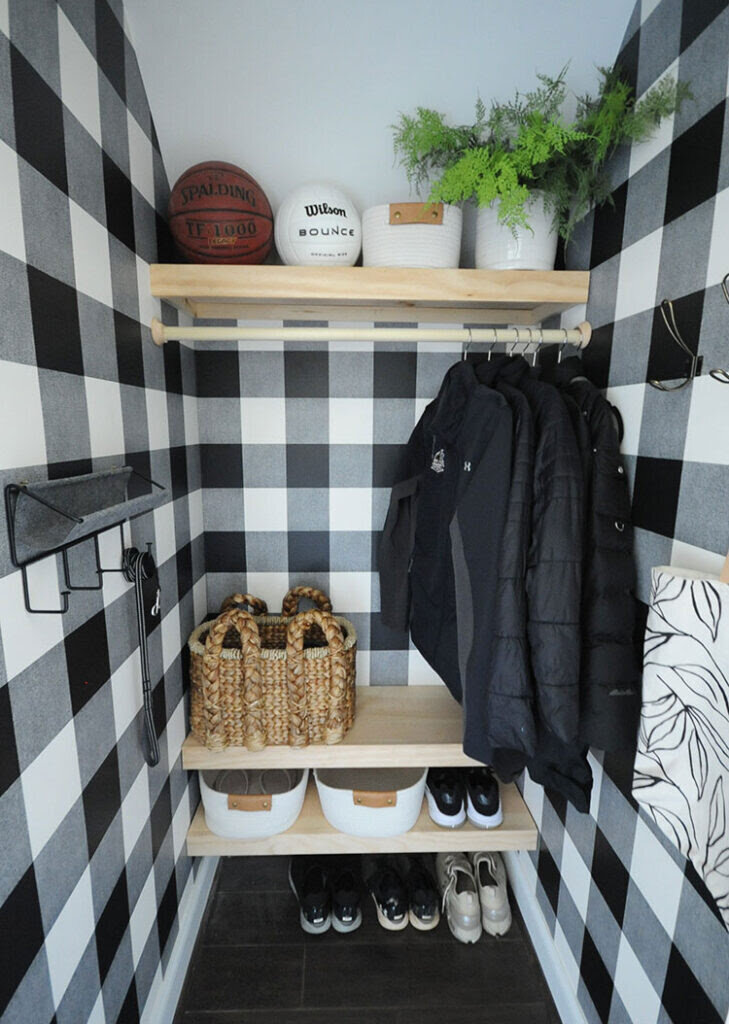Complete look of the closet