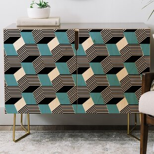 Gabriela Fuente Cube Play Credenza East Urban Home