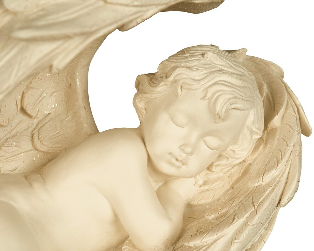 Angelstar Angel in Wings Statue & Reviews | Wayfair