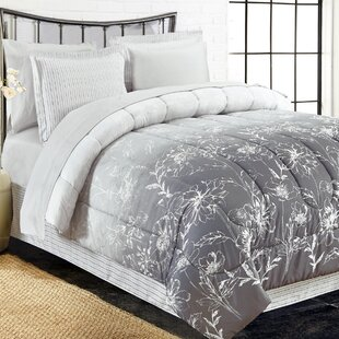 Lozoya 8 Piece Reversible Comforter Set