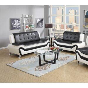 Elzada 2 Piece Living Room Set