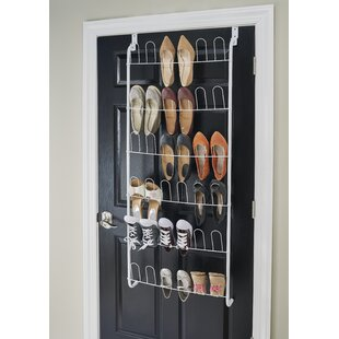 18 Pair Overdoor Shoe Organiser By Closetmaid