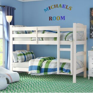 Theodore Twin Over Twin Convertible Bunk Bed by Viv + Rae Modern