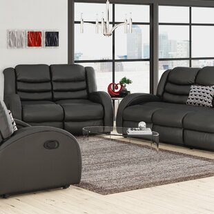 Mcpeak 3 Piece Living Room Set