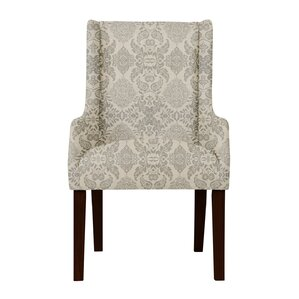 Larrabee Floral Arm Chair by Red Barrel S..