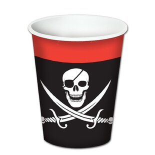Pirate Paper Disposable Cup