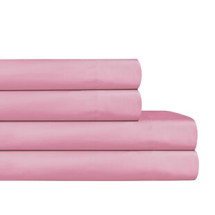 Eunice Luxury Hotel 200 Thread Count Solid Color 100% Cotton Sheet Set