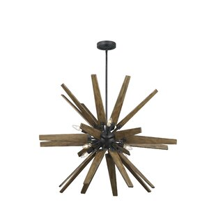 Union Rustic Tomohon 8-Light Sputnik Chandelier