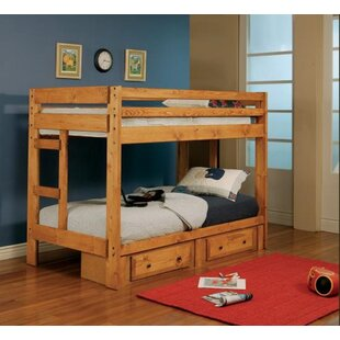 Cumberbatch Classic Twin Bunk Bed