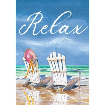 Breeze Decor Beachside Happy Hour Happy Hour And Drink Beverages 2 Sided Polyester 19 X 13 In Garden Flag Wayfair