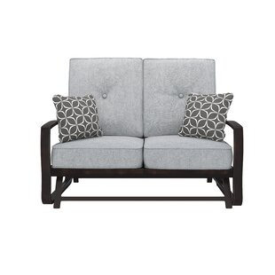 Ivy Bronx Luedtke Loveseat with Cushions