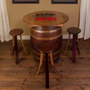 Whiskey Barrel 5 Piece Pub Table Set Napa East Collection