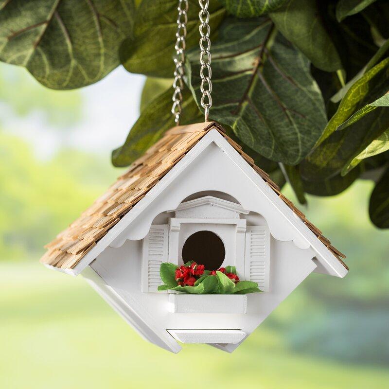 Home Bazaar Fledgling Series Little Wren House 6 5 In X 8 In X 6 Inbirdhouse Reviews Wayfair