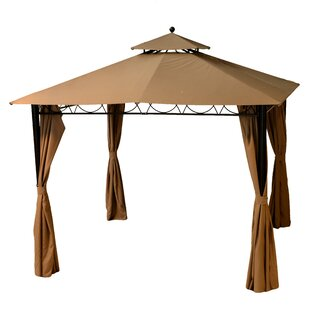 Bourgeois 3m X 3m Metal Patio Gazebo By Freeport Park