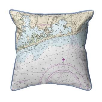 August Grove Ronald Covered Bridge Indoor Outdoor Lumbar Pillow Cover Wayfair