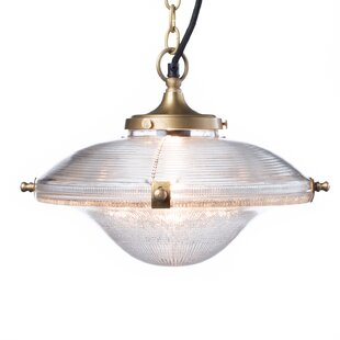 Breakwater Bay Goolsby 1-Light Dome Pendant