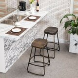 Wolfgang Bar & Counter Swivel Stool (Set of 2) by Williston Forge