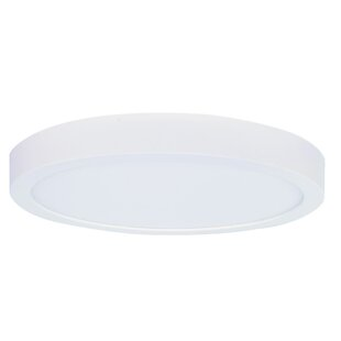 Ebern Designs Zelda 1-Light LED Flush Mount