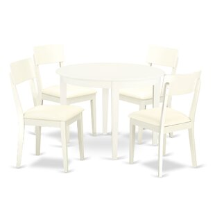 Hillhouse 5 Piece Solid Wood Dining Set