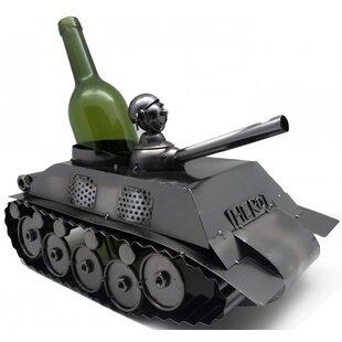 Tank 1 Bottle Tabletop Wine Rack by Wine Bodies