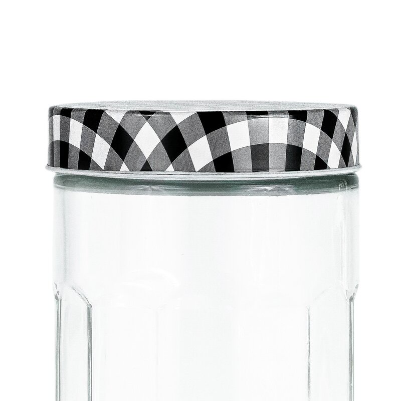 Gracie Oaks Glass Kitchen Canister Wayfair