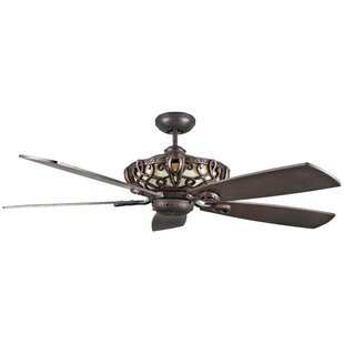 Farmhouse rustic ceiling fans birch lane 60 dunaghy 5 blade ceiling fan aloadofball Gallery