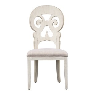 Konen Splat Back Upholstered Dining Chair (Set of 2)