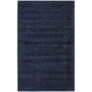 Abbotsfield Hand Tufted Dark Blue Area Rug