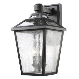 Reviews Croll 3-Light Outdoor Wall Lantern By Breakwater Bay